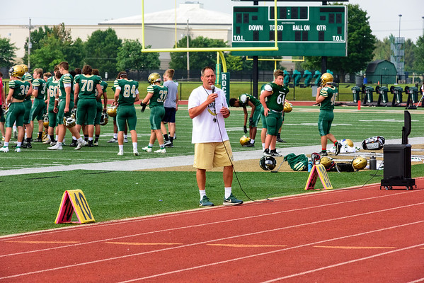 2021-08-07 Scrimmage Green Gold