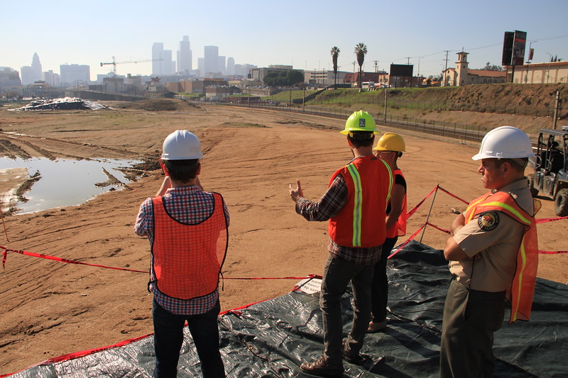 2014, Site Visit During Construction