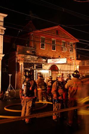 Hawthorne 3rd alarm fire Lafayette Ave 4-3-10