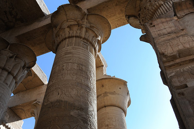 Egypt - Temple of Kom Ombu in Edfu