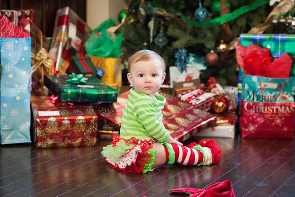 Avery - Christmas 2014
