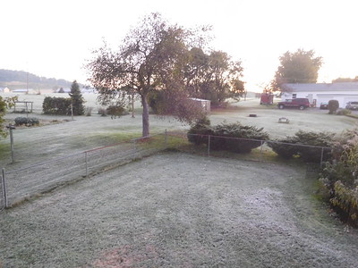 First Frost Oct 1