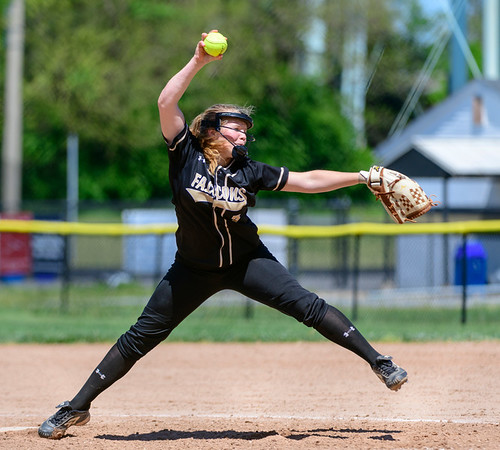 20190427 Varsity Softball Quince Orchard at Poolesville
