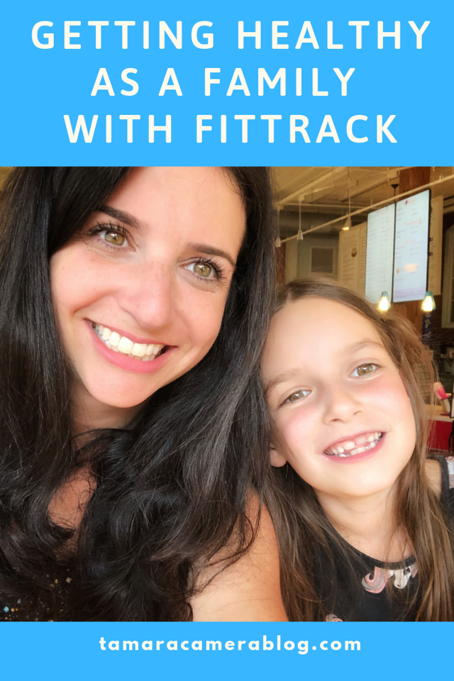 Getting healthy as a family is fun with FitTrack app and scale. #ad 80% of people fail to maintain health goals. Get a clearer picture of your health now.