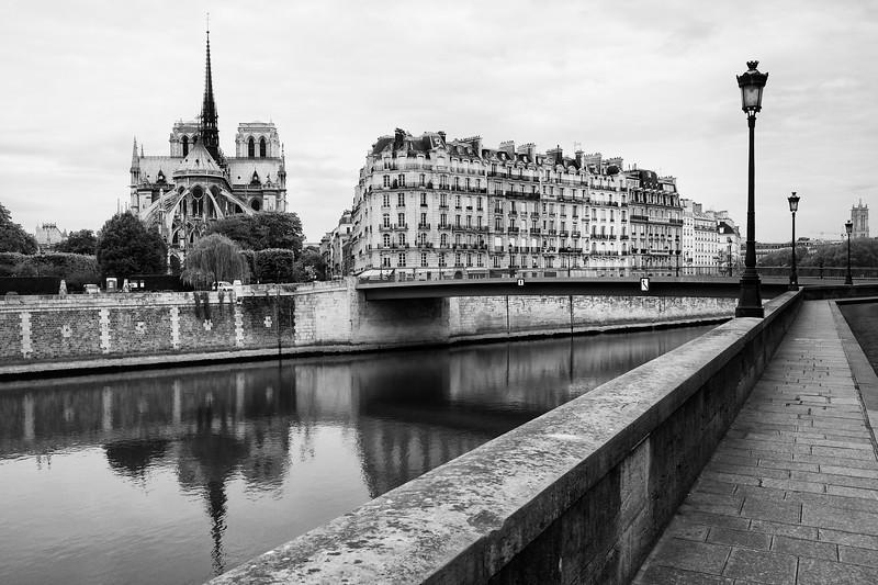 Paris Ile de la Cité and Notre Dame