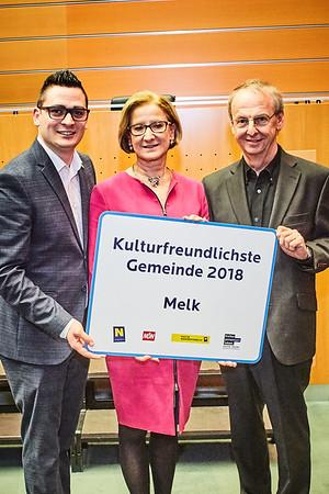 Kulturfreundlichste Gemeinde 2018