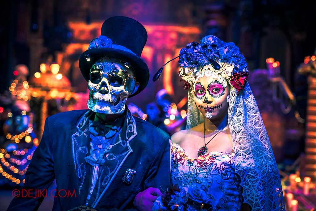 Halloween Horror Nights 6 Final Weekend - March of the Dead / The Bride