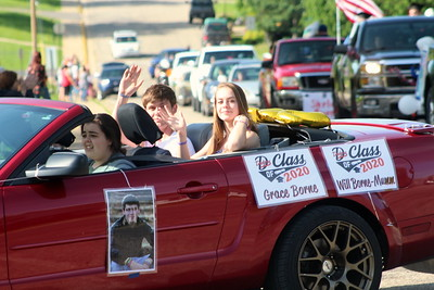 Dodgeville Graduation Parade 5-31-20