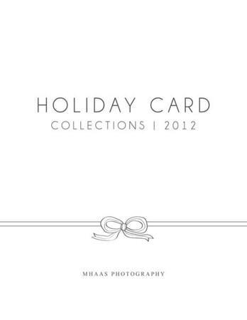 Holiday Card Catalog 2012