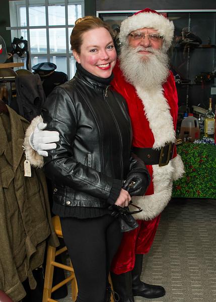 Santa at Smith and Jackson's