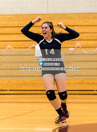 10/24/2017 - Girls Varsity Volleyball - Needham vs Wellesley