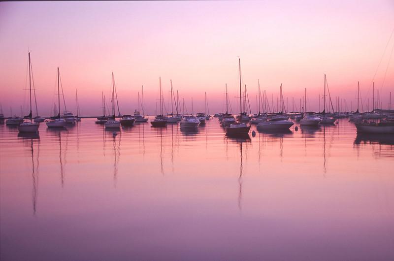 Boats at Dawn, Chicago