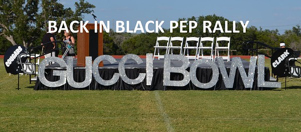 Back in Black Pep Rally