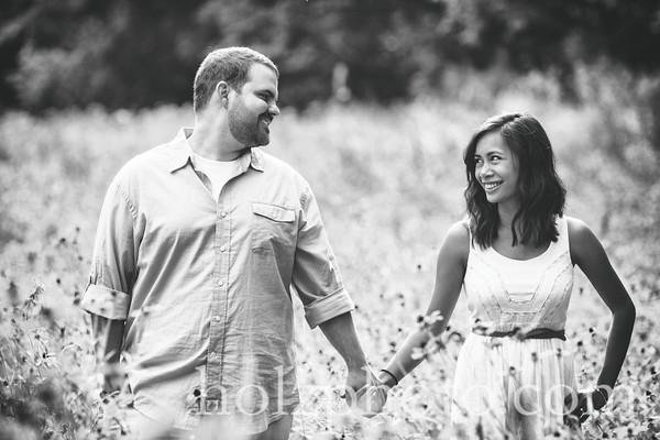 Joanna & Michael B/W Engagement