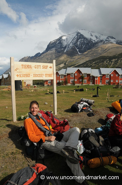 Relaxing After the Torres del Paine Trek - Patagonian Chile
