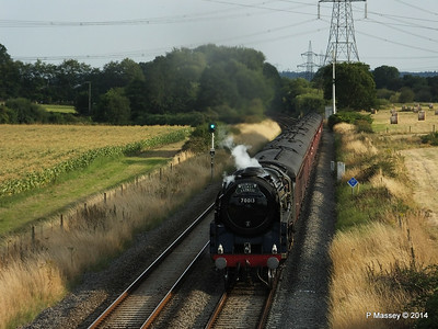 6 Aug 2014 Oliver Cromwell 70013