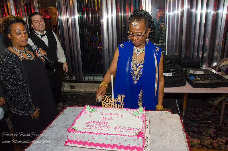 Elizabeth Hyacinth Rigby Cuffie's 80th Bday Party