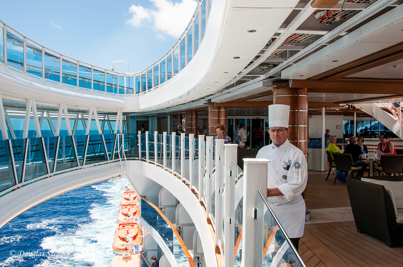 Somewhere in the Atlantic, onboard the Royal Princess