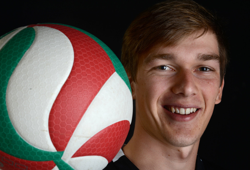 . Stephen Zetterberg of Claremont High School has been named Player of the Year to The Sun and Inland Valley Daily Bulletin\'s All-Area boy\'s volleyball team. Jenn Maher staff photo.