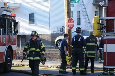 1/7/2012 - MALDEN, MASS - WORKING FIRE 70 BOYLSTON ST