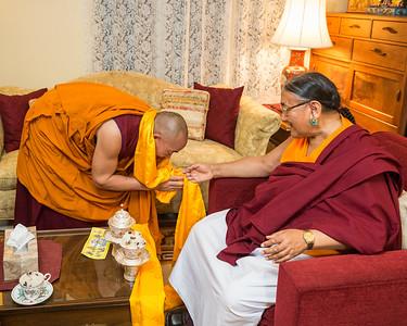 Kyabgon Gongma Trichen Rinpoche Visits & Teaches