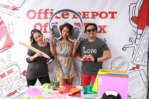 Photos - 9.23.2017 - Office Depot Office Max + iHeartRadio
