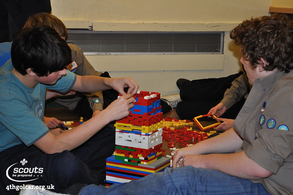 January - Lego and Meccano Challenge