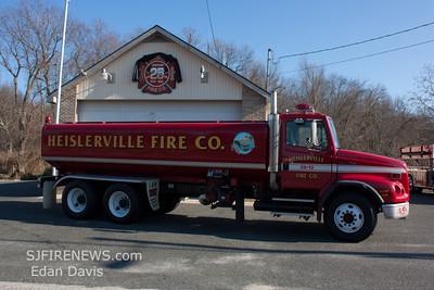 Heislerville Fire Co. Sta. 25, (Cumberland County)Tanker 25-12