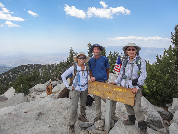 San Jacinto Peak via Fuller Ridge Trail,June 26,2016