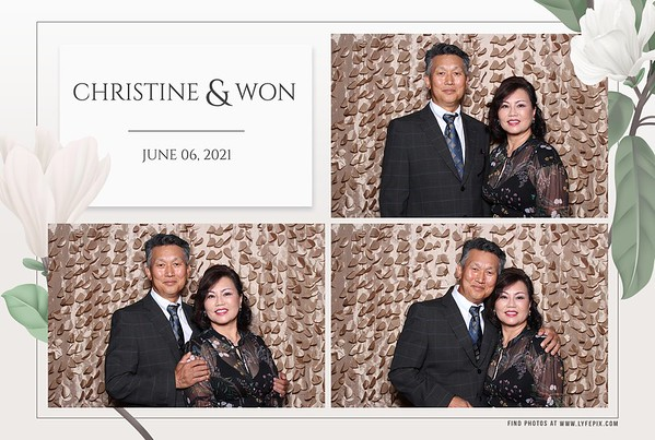 Christine and Won's Wedding in Baltimore, MD