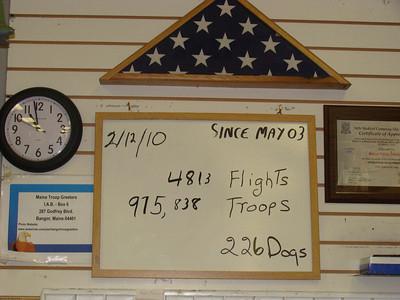 February 12, 2010 (11:15 PM, 2 Flights)