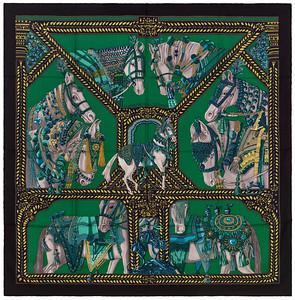 Danse du Cheval Marwari - CS140 - Black Green Turquoise - NWOCT - 1603021452