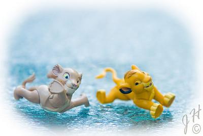 Nala and Simba on Ice