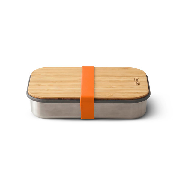 Stainless Steel Sandwich Box orange Black Blum