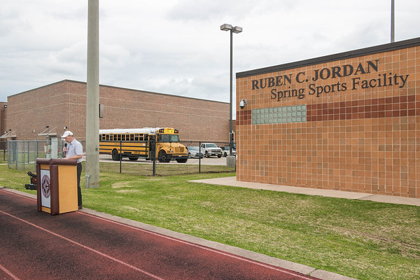 Ruben Jordan Building Dedication Ceremony