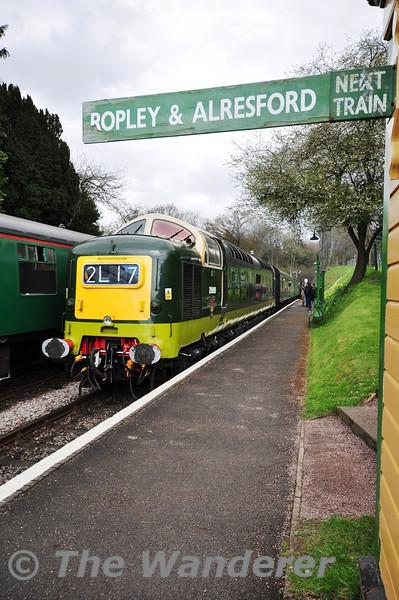 The Mid Hants Railway Diesel Gala: 26-28th April 2013