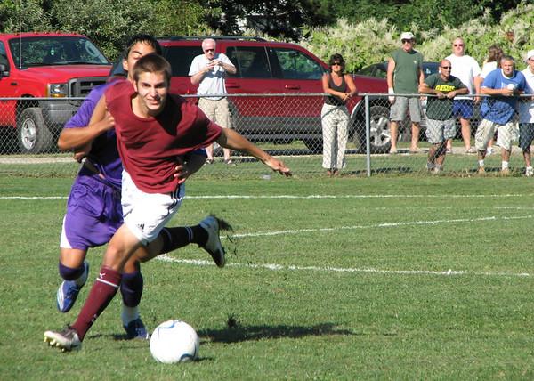 Varsity Boys Soccer vs West Hills - 9/04/07