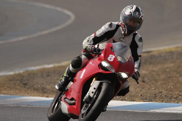 8 Ducati Red