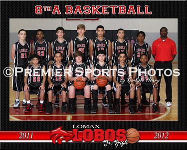 2011 Lomax Junior High Boys Basketball