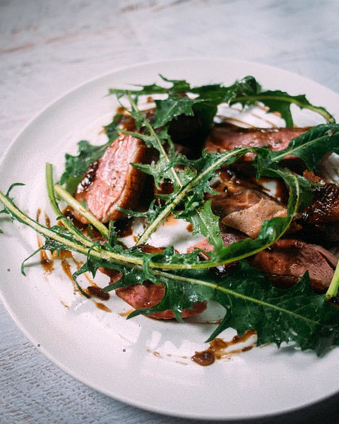 Roasted_duck_breast_with_dandelion_greens._Recipe_up_on_the_blog_bit.lyroastduck.jpg