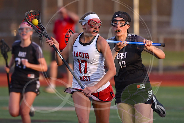 Lakota West Girls Lacrosse vs. Lakota East (4.26.18)