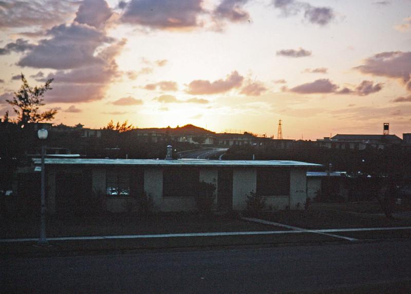 Military Housing - Sunset