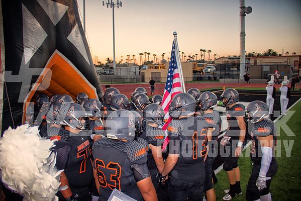 Huntington Beach HS vs Tesoro HS 9-9-2016