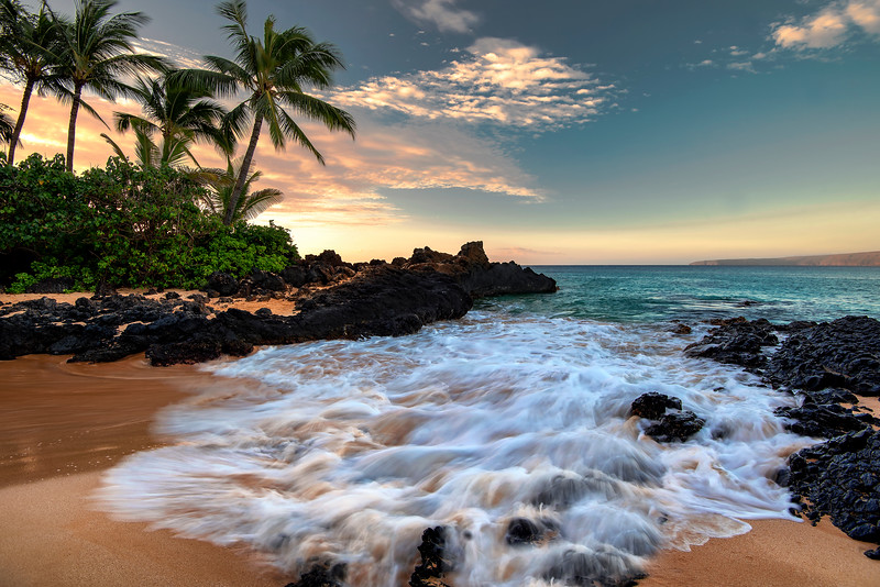 Maui Makena Cove Beach - Secret Beach Maui Hawaii