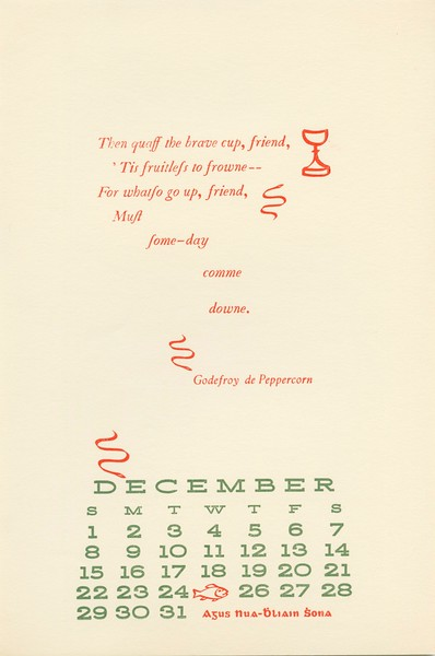 September, 1963, Peppercorn Press