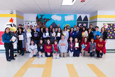 Horizon Heights Read Across America