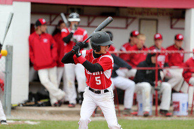 Boys Varsity Baseball - 4/22/2014 Spring Lake