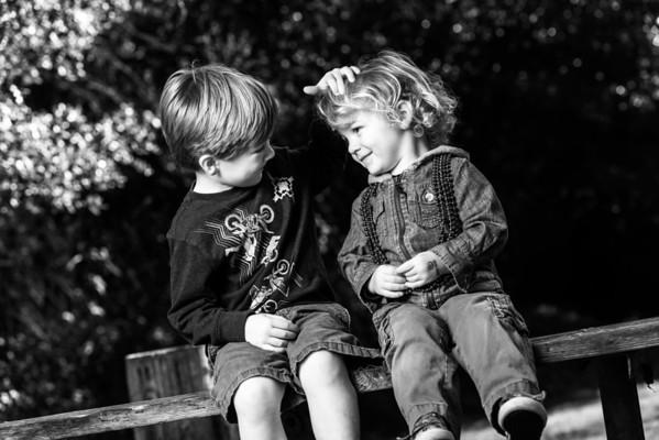 Carie, Wyatt and Seth (Family Photography, Hidden Beach Park, Aptos, California)