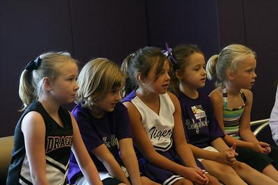 Cheerleading Camp at Darlington 2008