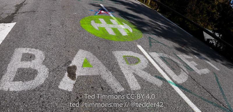 Love for Romai Bardet, French rider for AG2R.